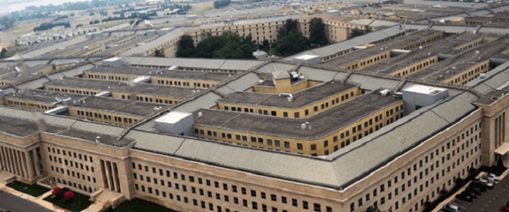 Photo of Pentagon from above