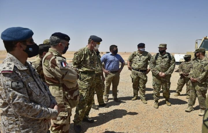 Partners and allies at Prince Sultan Air Base